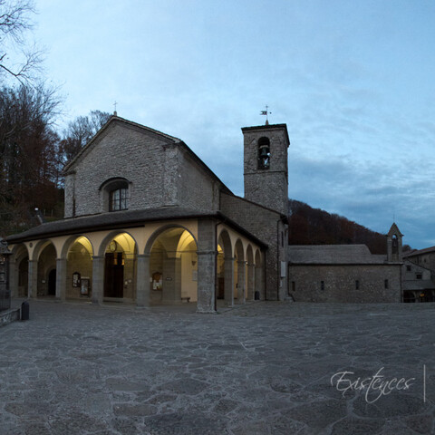 The monastery of La Verna